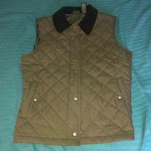 L.L. Bean Green Vest